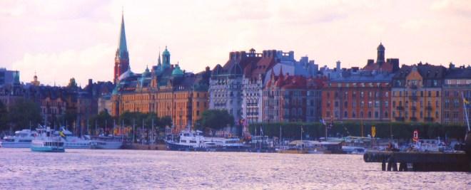 Main harbor, Stockholm, Sweden