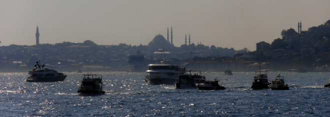 The stunning Bosphorus Strait, Istanbul