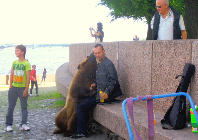 Tourist fun, St. Petersburg, Russia