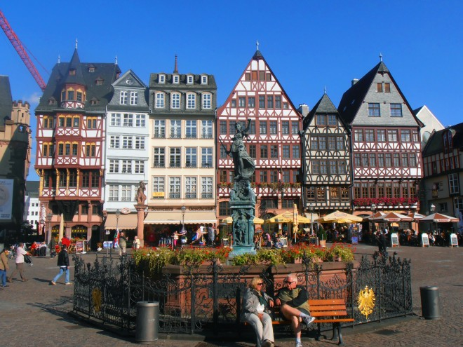 Roemer Square, Frankfurt, Germany