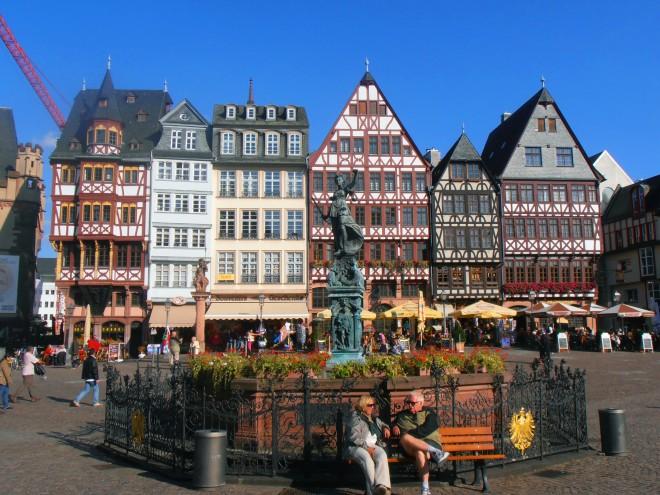 Roemer Square, Frankfurt, Germany