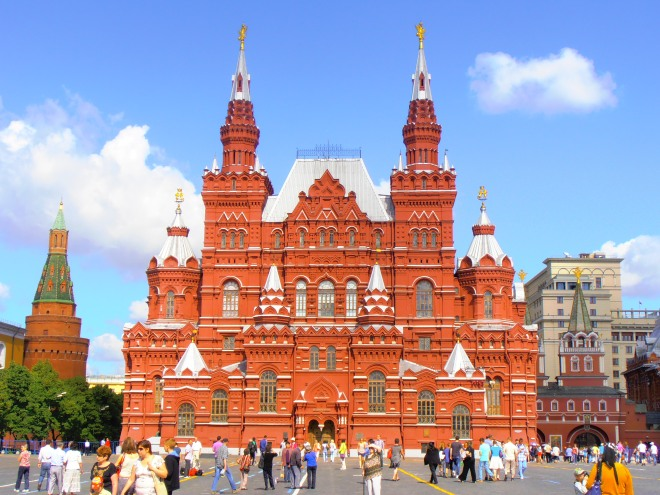 A final look at Russia: Red Square, Moscow