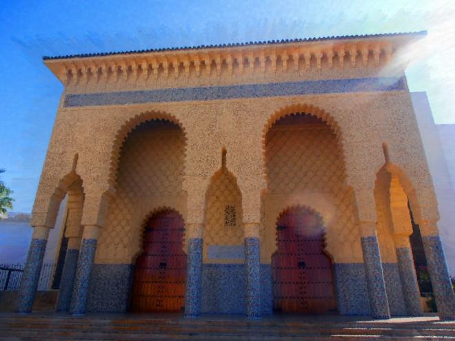 Suburban mosque, Casablanca