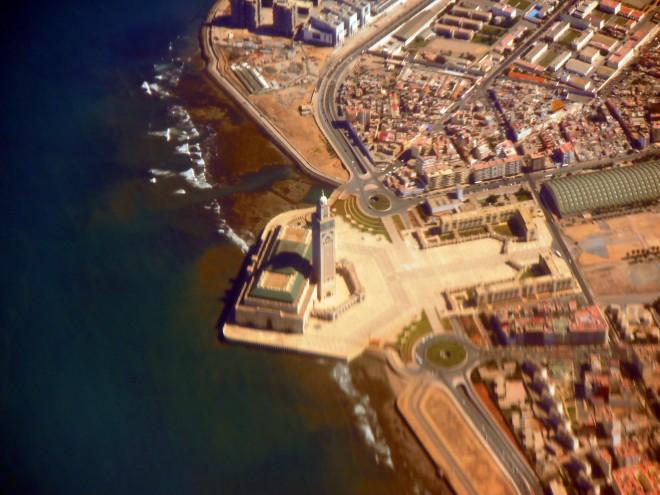 Aerial of Casablanca
