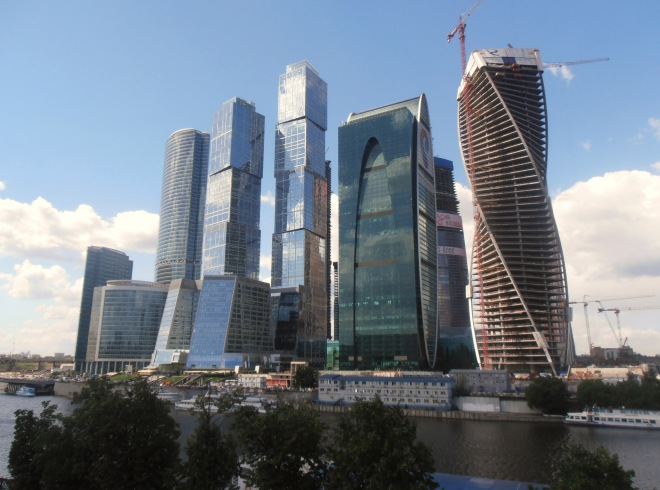 Financial district, Moscow