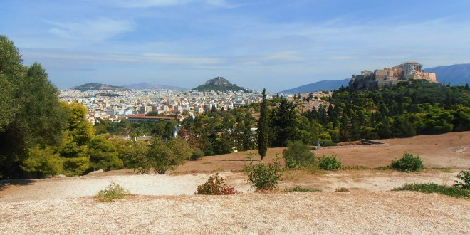 View of Athens from Filopappos Hill