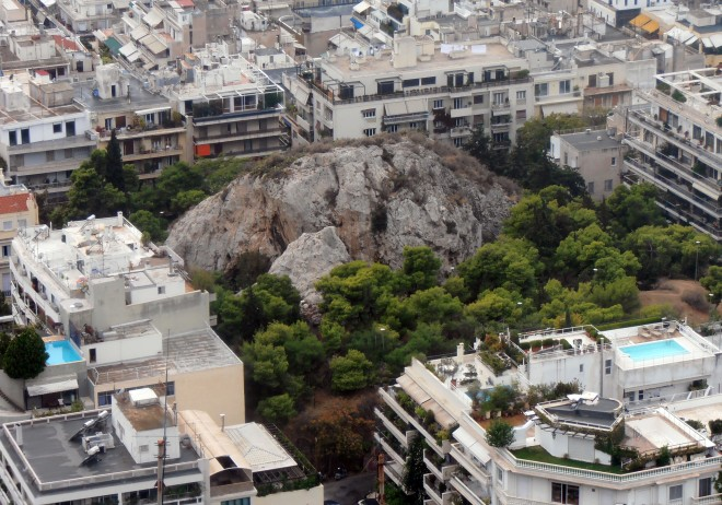 """You don't really go to """"the park"""" in Athens -- you go to """"the rock"""""""