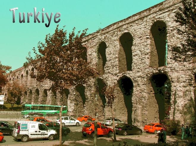 Bozdogan Kemeri (Aqueduct), Istanbul, Turkey