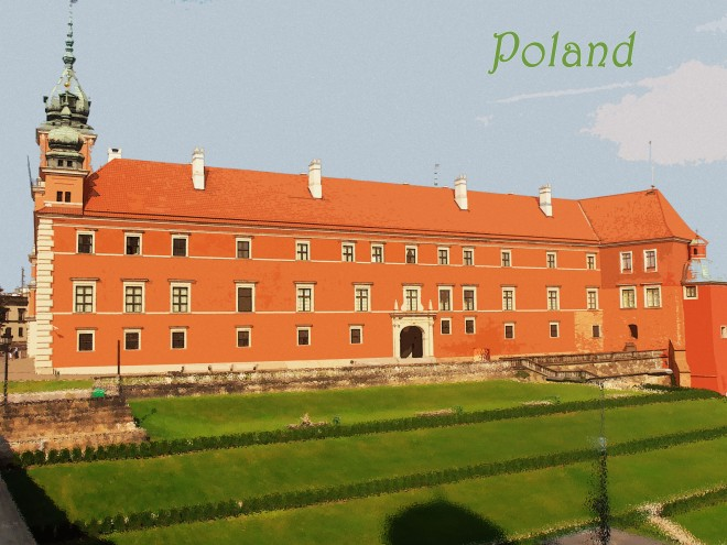 Parliament Building in Warsaw