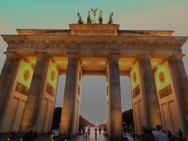 The Brandenburg Tor, Berlin