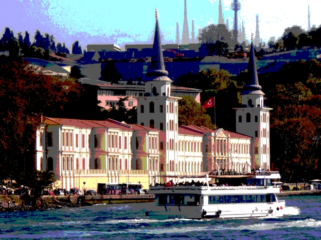 Cruising the Bosphorus, Istanbul, Turkey