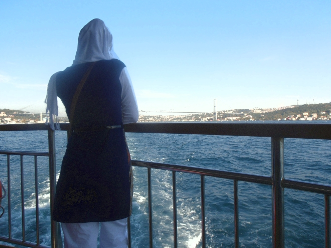 Looking out on the Bosphorus, Istanbul