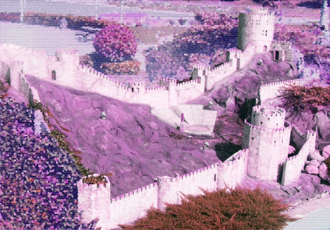 A model of the Fortress of Europe, Istanbul