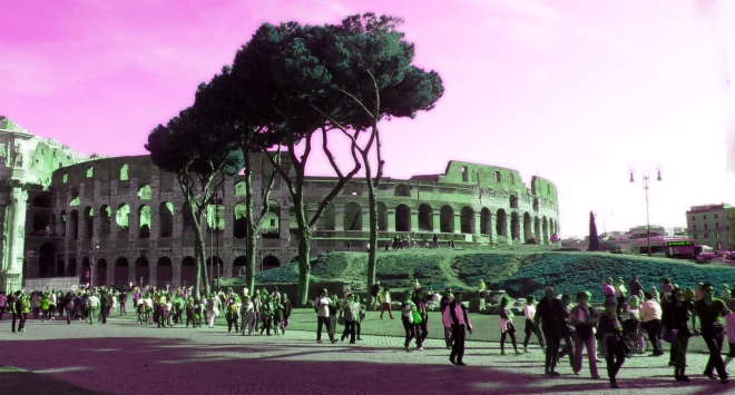 A final shot of the wondrous Coliseum