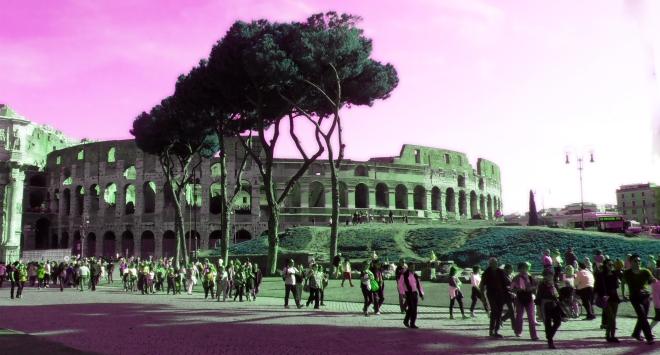 A final shot of the wondrous Coliseum