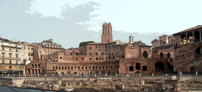 The Imperial Fora, Rome