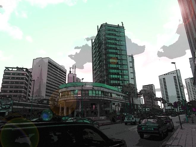 Downtown Casablanca