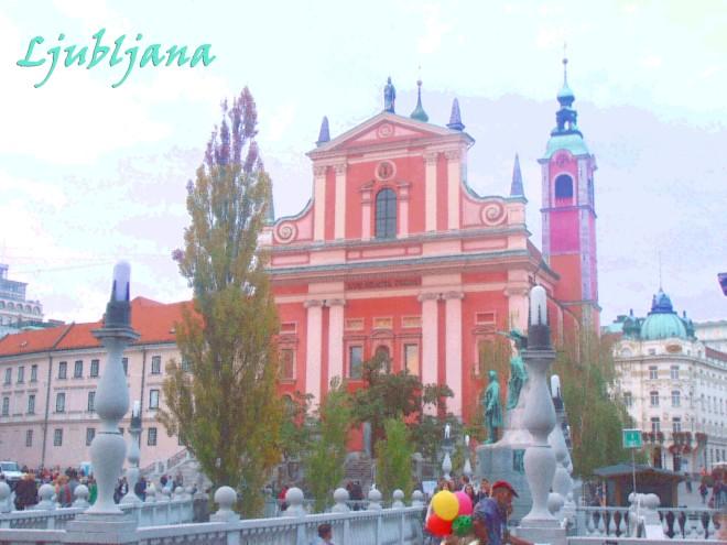 The capital of Slovenia