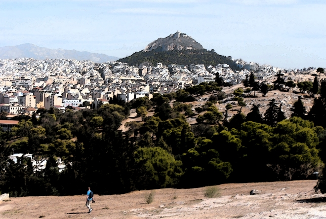 A final look at Athens and Lykovittos Hill