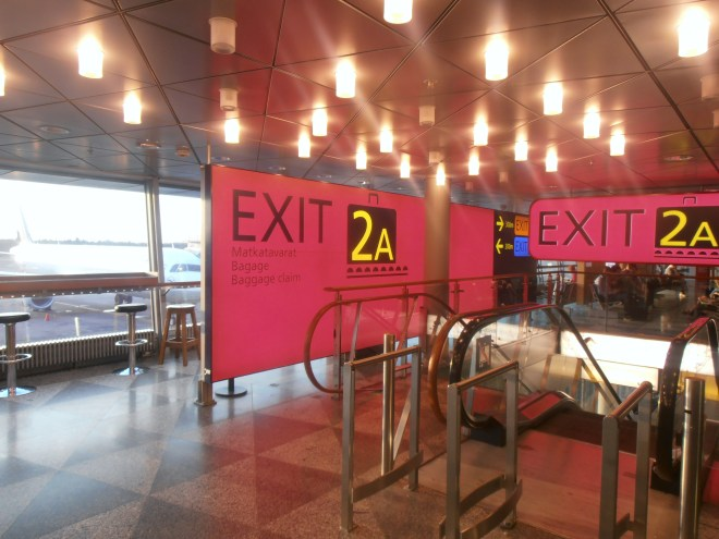 In case you're not sure, this isn't Exit 2A… oh wait it is. Time to head home!