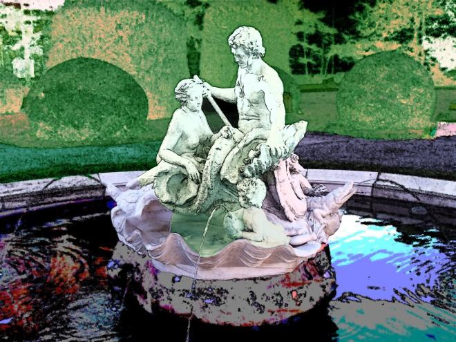 Viennese fountain