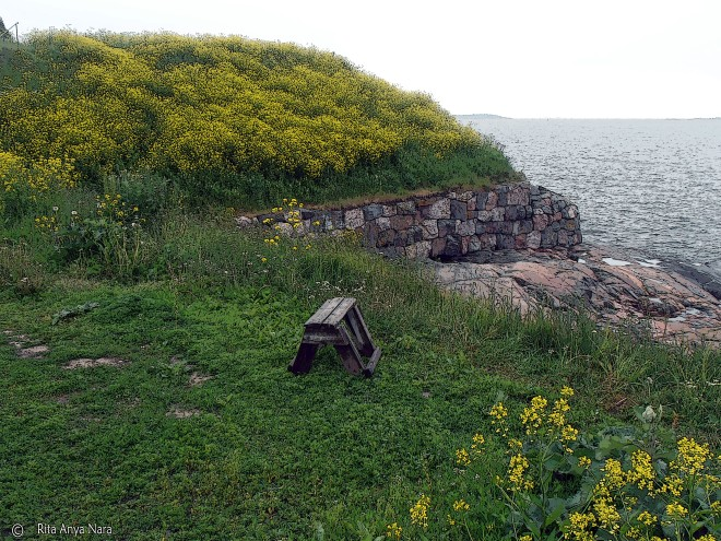 It's not always practical to find a place like this to unwind, but there are still plenty of places to relax if you know where to look. ( Pictured: Suomenlinna, Helsinki, Finland.)
