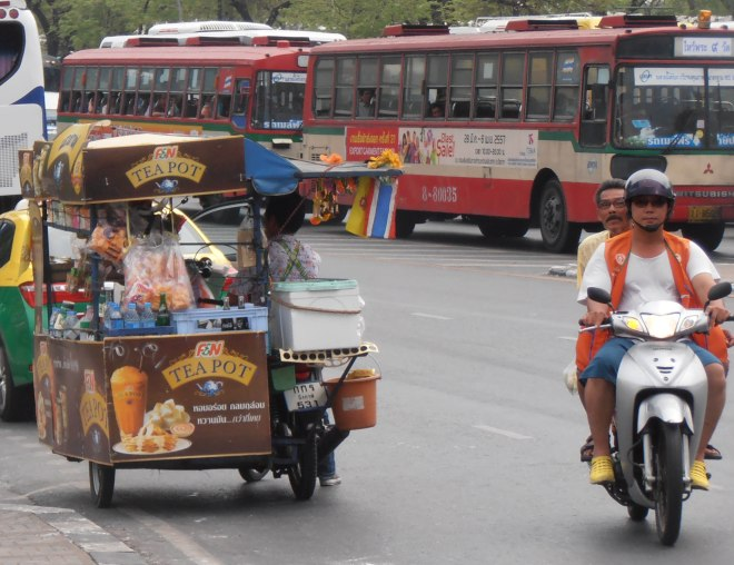 One final note: beware of outright robbery committed by motorcycling bag-snatchers out there (not that these cool Bangkok locals would even think of it)