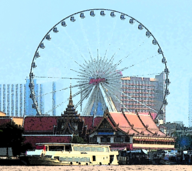 Asiatique, new fixture in Bangkok.