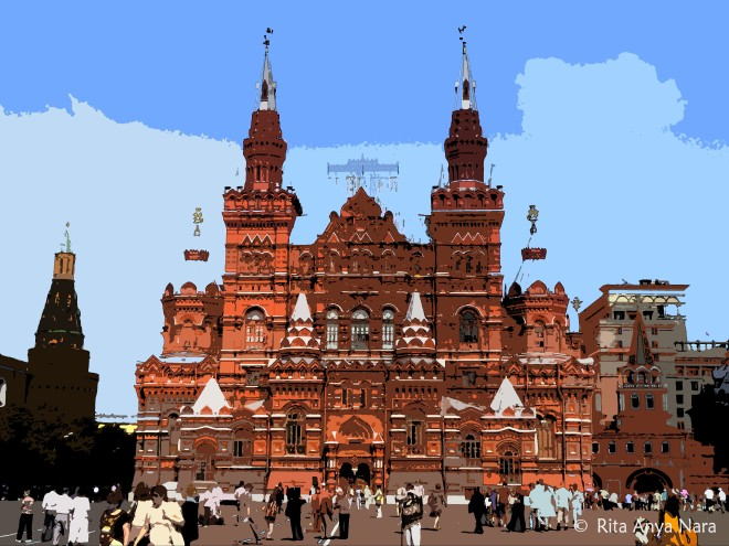 Russian take on the Gingerbread House? (Red Square, Moscow)