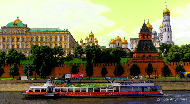 Pour me a river of chocolate syrup to enjoy this one (Neva River, Moscow)